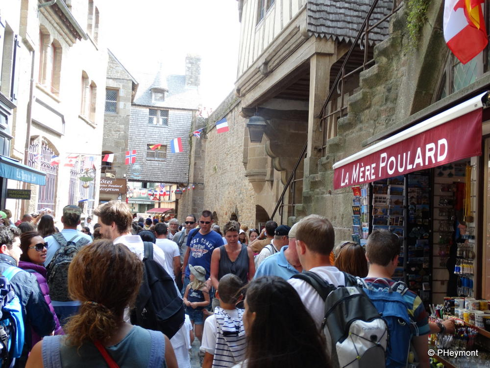 Grand Rue, most crowded place I've been without a parade