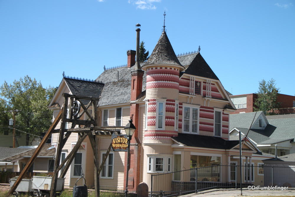 One of many Victorian homes in Leadville, Colorado