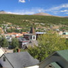 Leadville, Colorado.  Overview of the town.  Located at an altitude of 10,152 feet (3,094 meters)