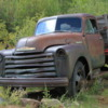 Old Chevy Truck, Silver Plume, Colorado