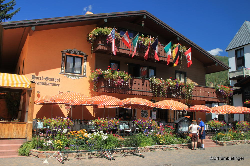 Hotel/Restaurant, Vail, Colorado