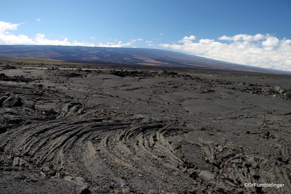 Mauna Loa's summit, viewed from Saddle Road, Big Island of Hawaii