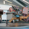 The Flying Traveler, , Vancouver Airport, British Columbia