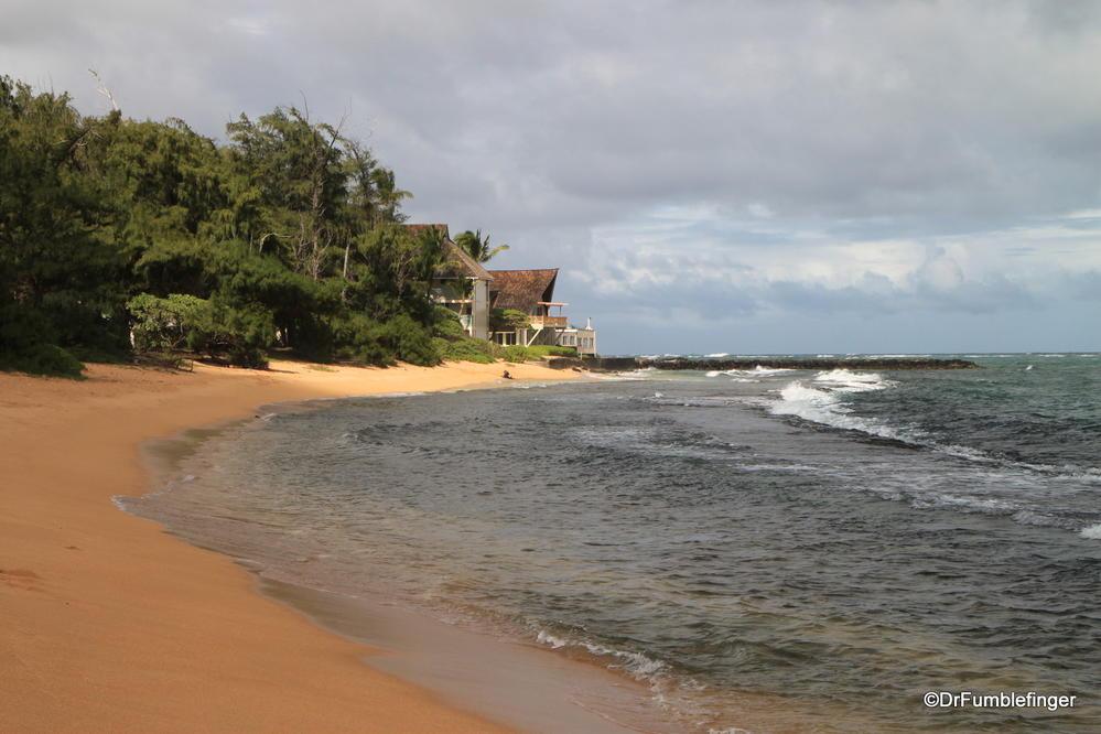 Anahola Beach Park,, Kauai, Hawaii
