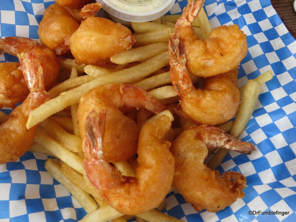 Beer-battered Shrimp -- also excellent.  Waimea, Kauai