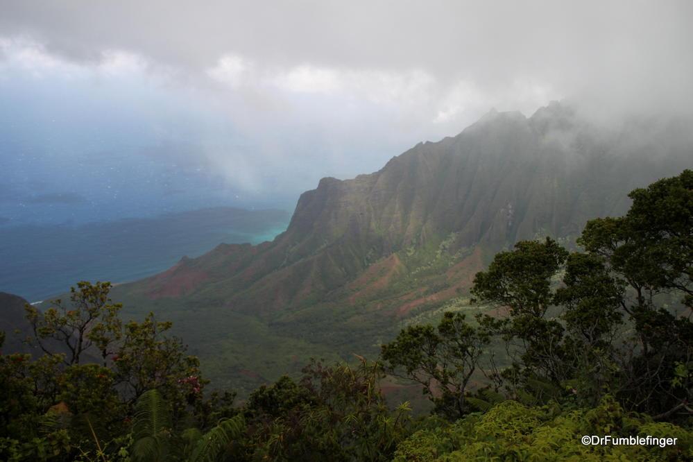 Clearing storm over the Kalalau Valley, Kauai