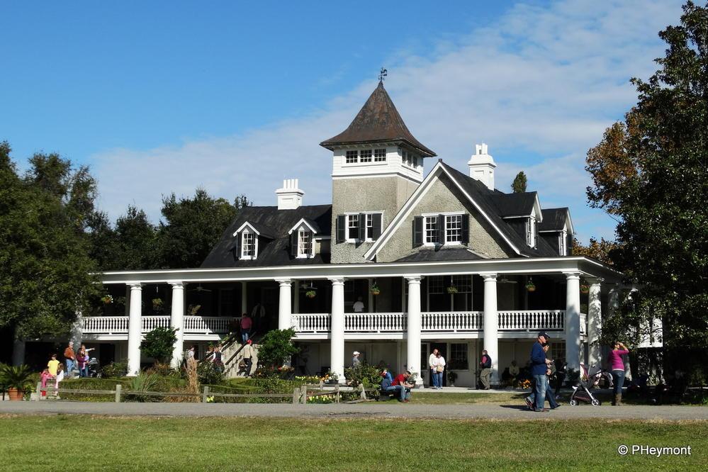 """The House,"" Magnolia Plantation"