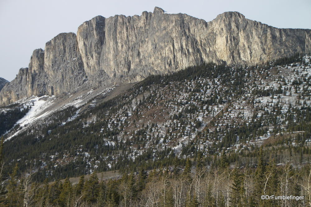 One of Alberta's many great Rocky Mountain peaks