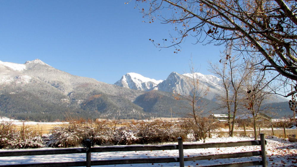 Rocky Mountains in St. Ignatius, Montana