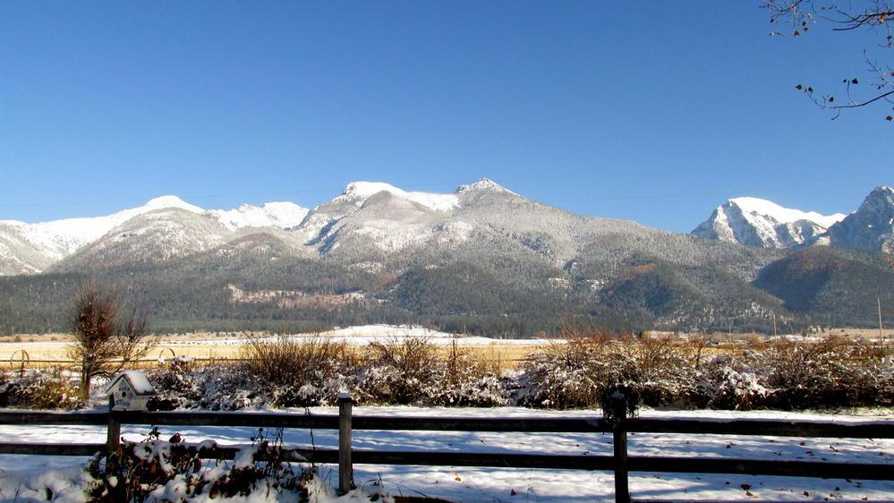 Rocky Mountains in St. Ignatius, Montana