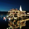 Christmas lights at the Coeur d'Alene Resort