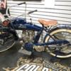"An original ""Indian"" motorcycle, Gold and Silver Emporium, Las Vegas"