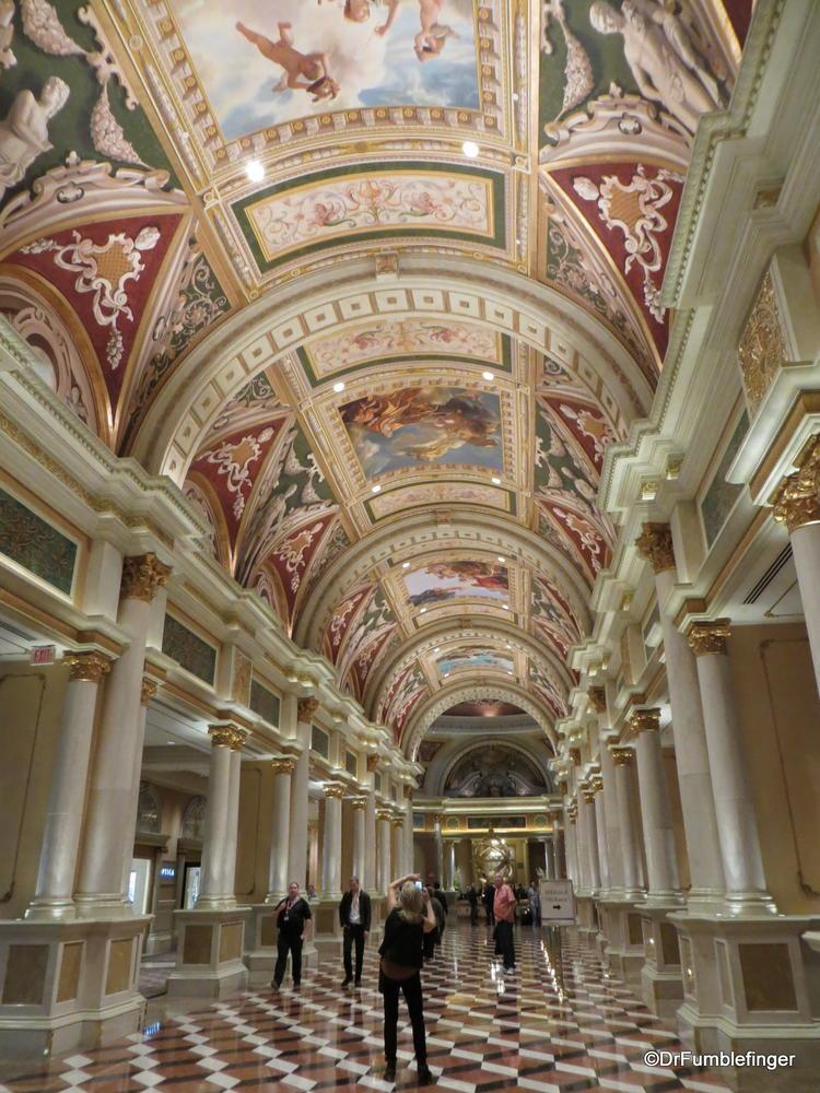 Check-in Lobby at the Venetian Resort, Las Vegas