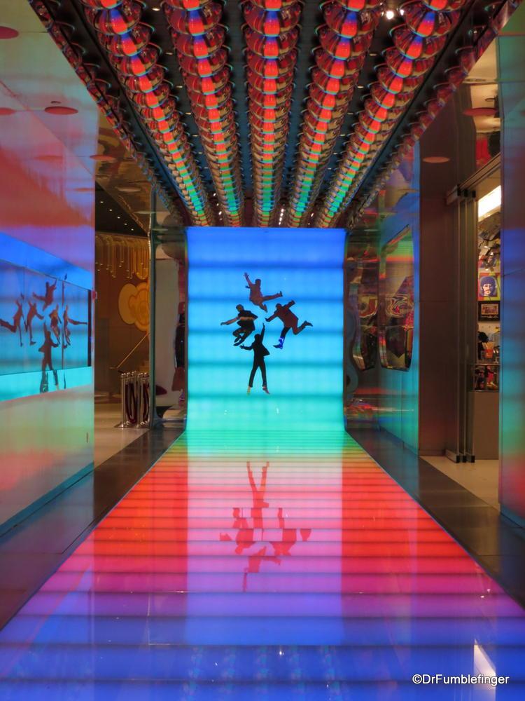 "Beatles Cirque du Soleil show, ""Love"", at the Mirage resort, Las Vegas"