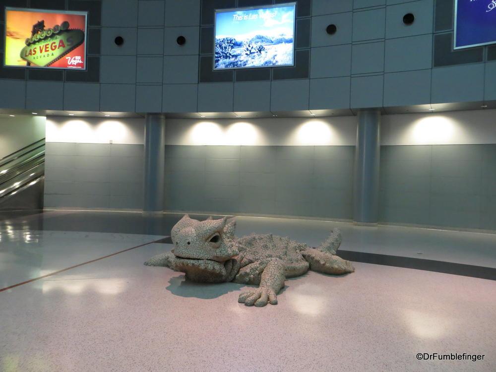 Airport art, McCarran Airport, Las Vegas