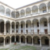 Inner courtyard at the Palazzo dei Normanni, Palermo