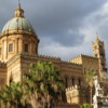 Cathedral di Palermo.  An example of the Arab-Norman influenced architecture