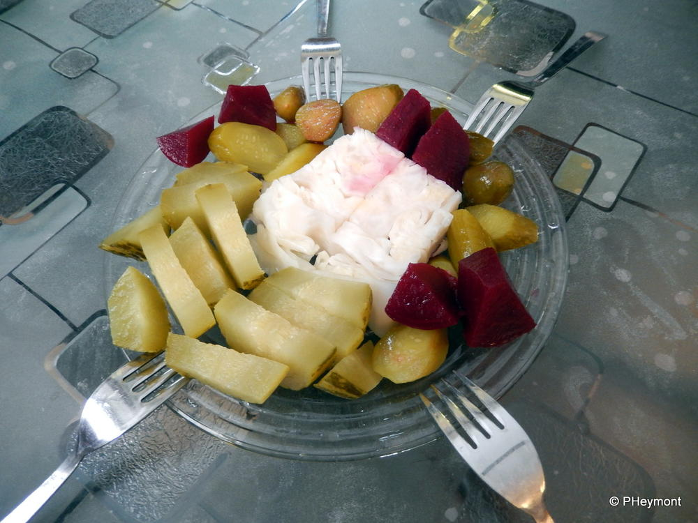 A plate of pickles, Istanbul