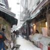 Snowy Street in Beyoglu, Istanbul