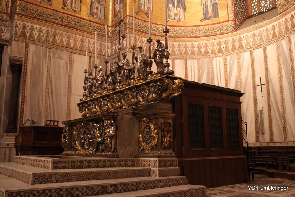 Altar, Cattedrale di Monreale