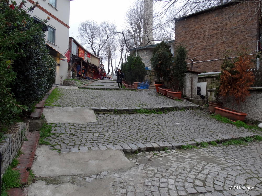 A Step Street in Istanbul