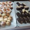Delicious fresh cookies in Ragusa Ibla, Sicily