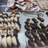 Delicious fresh cookies in Ragusa Ibla, Sicily