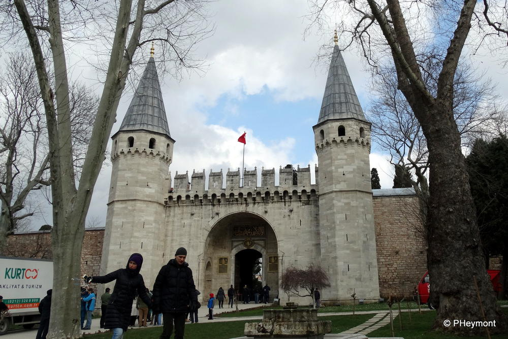 Gate of Peace, Topkapi