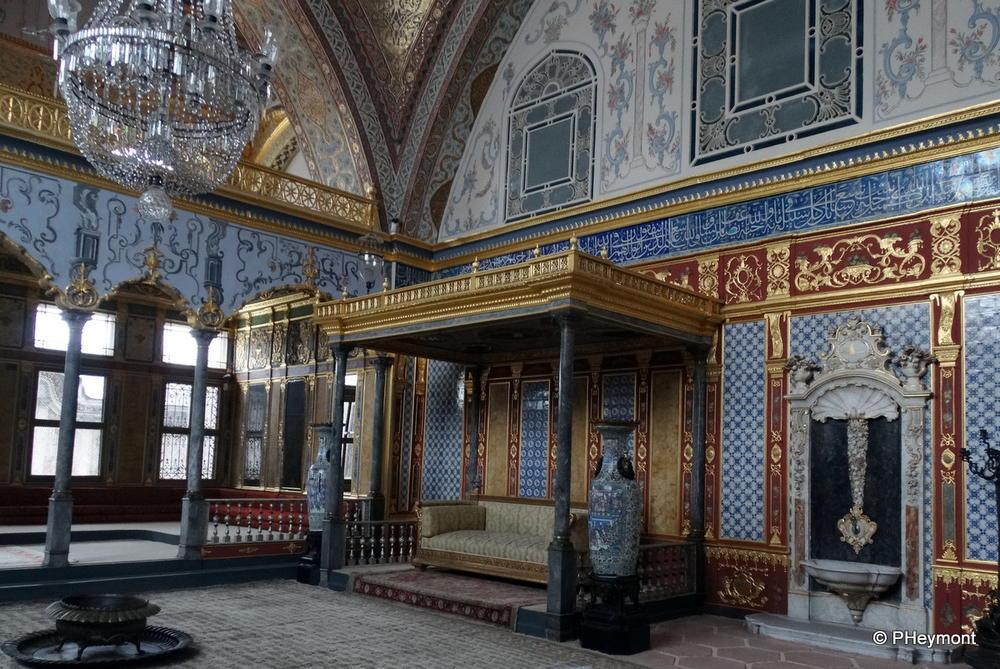 The Sultan's Audience Room, Topkapi