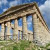 Segesta, Sicily.  A Doric temple, constructed 408 BC