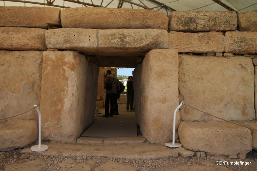 Ancient temples at Hagar Qim, more than 5000 years old
