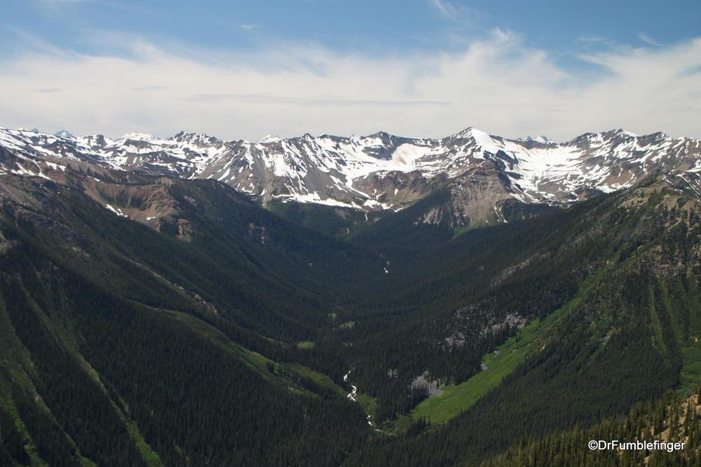 Views from Kicking Horse Mountain, British Columbia