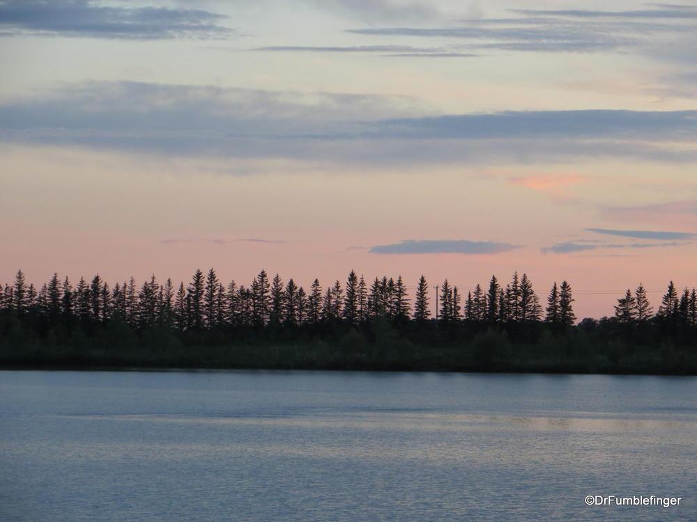 Sunset, Fort Whyte Center, Winnipeg