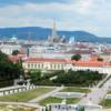 Vienna's Altstadt from the Belvedere