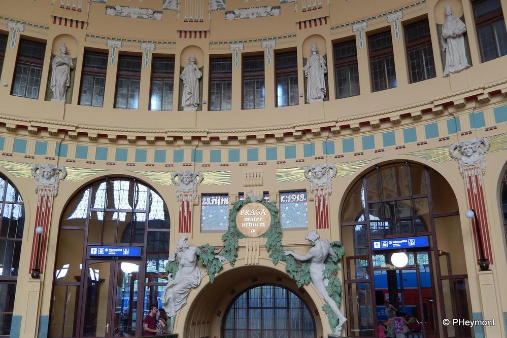 Prague's old station rotunda