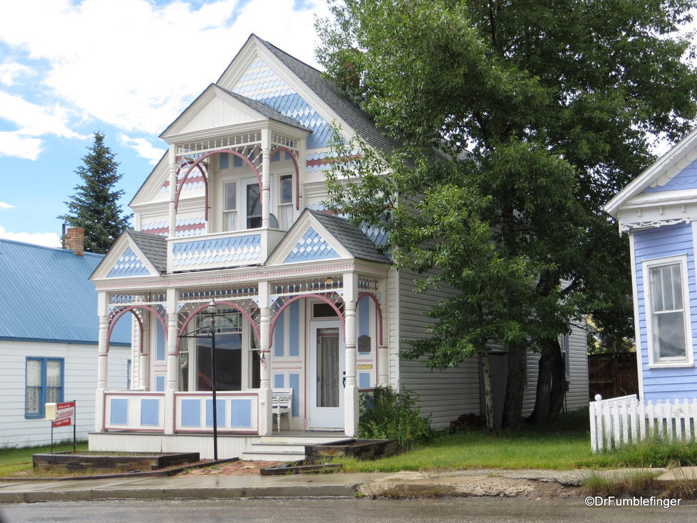 Gingerbread homes, Leadville, Colorado