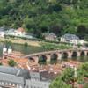 Altstadt and Alte Brucke, Heidelberg
