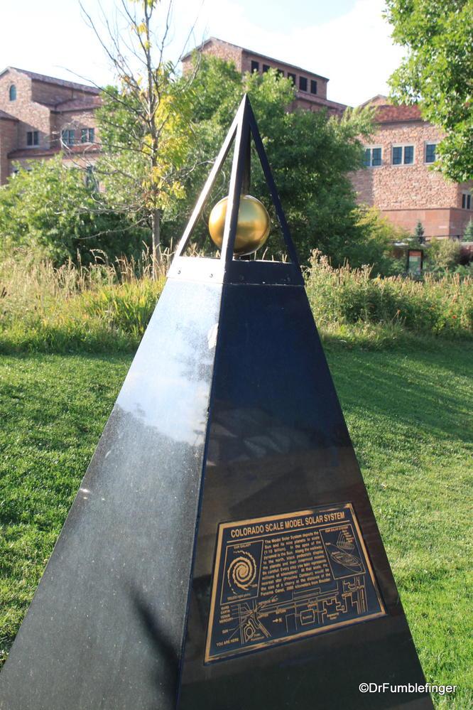 Colorado Scale Model of the Solar System, UC Campus, Boulder, Colorado