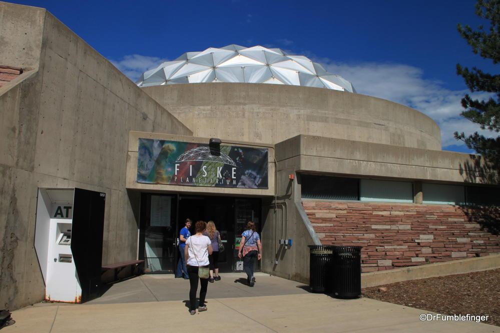 Fiske Planetarium, U.C Campus, Boulder, Colorado