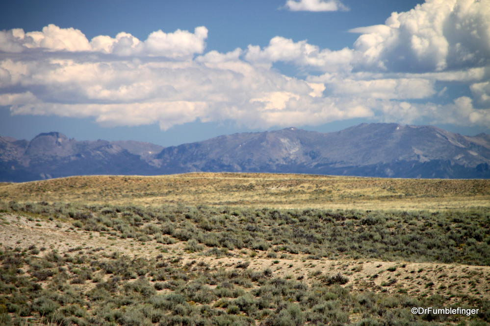 Wyoming landscape, south of Pinedale