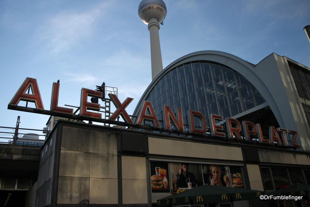 Alexanderplatz train station, Berlin