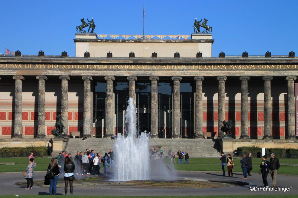Altes Museum, Museum Island, Berlin