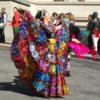 Mexican Dancers at Frida Kahlo exhibit
