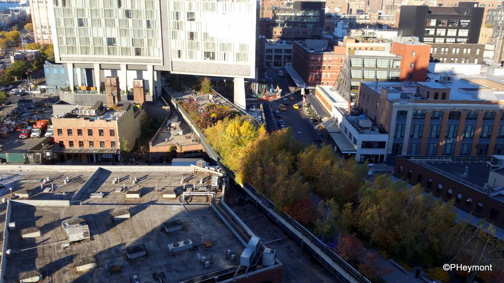 High Line from the Air