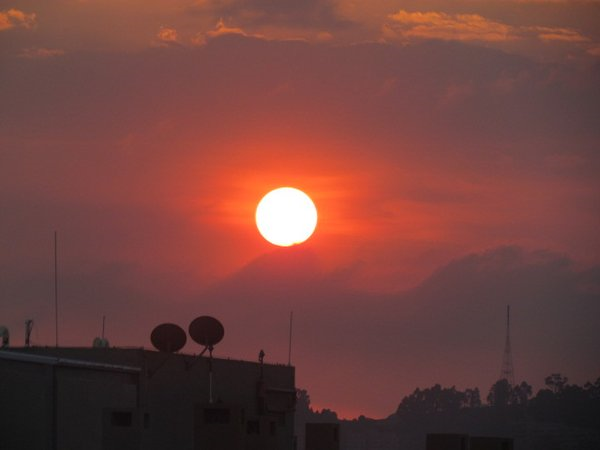 Sunset in Bogota Columbia by OEMG