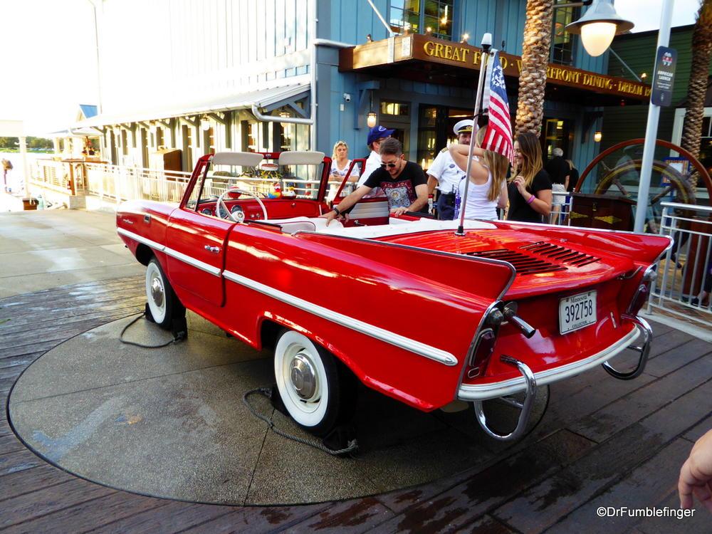 Amphicar, Disney Springs, Orlando, Florida