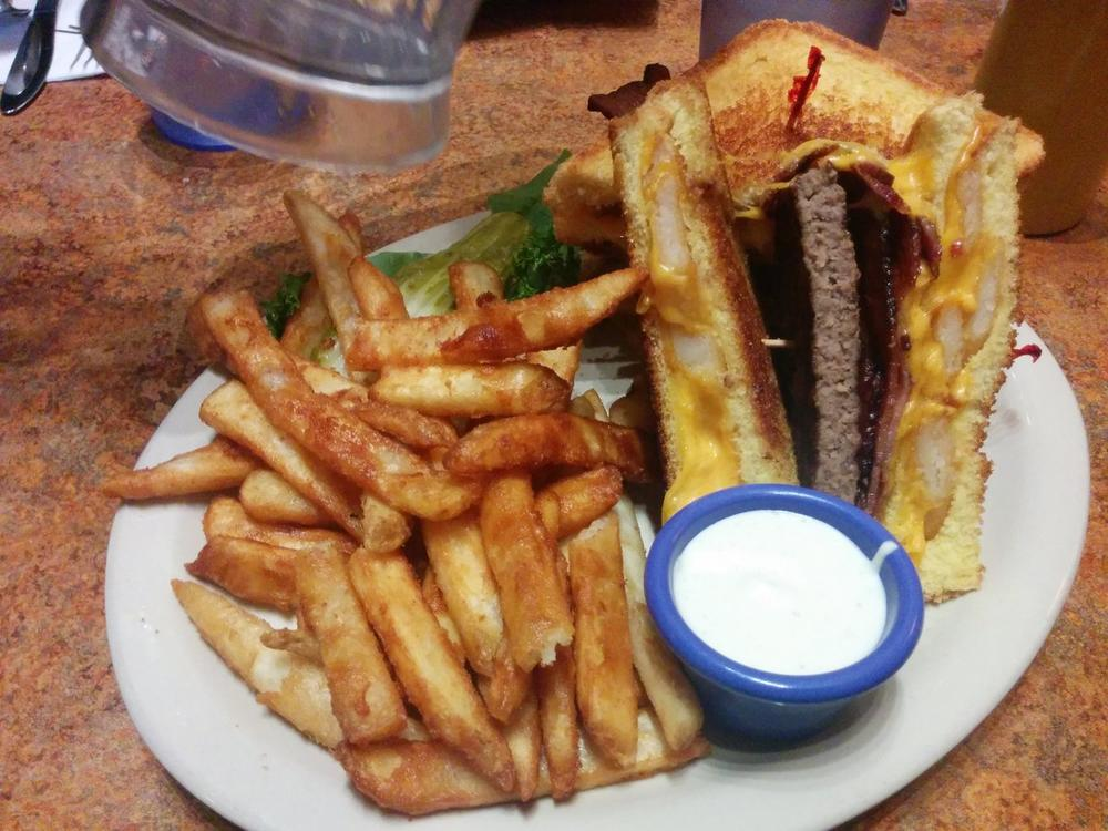 A different cheeseburger.  The Billy Breen at The Satellite, Spokane, WA