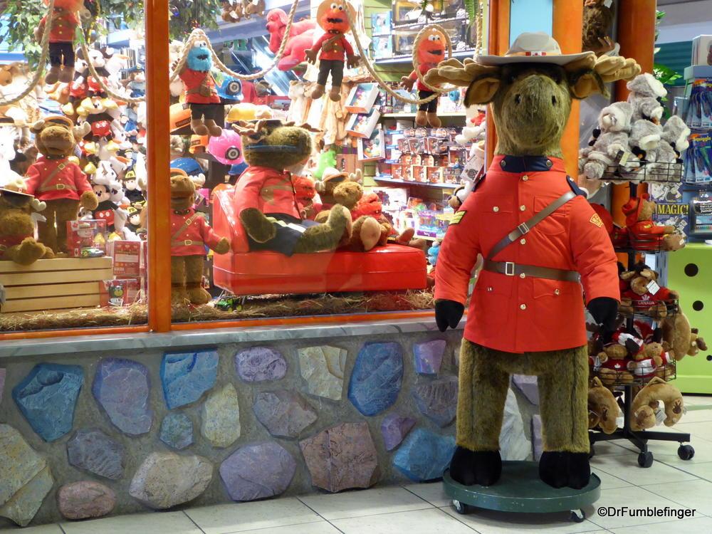 Mounties on duty at Calgary International Airport