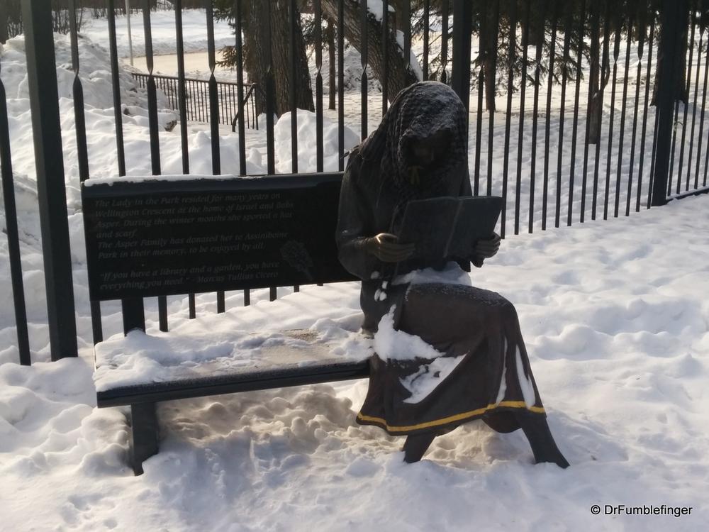 """The Lady in the Park"", Assiniboine Park, Winnipeg"