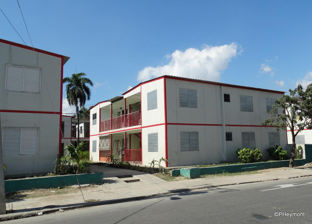 After the hurricane, new housing